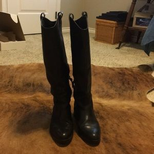 Louise et cie Zada Tall Leather Riding Boots